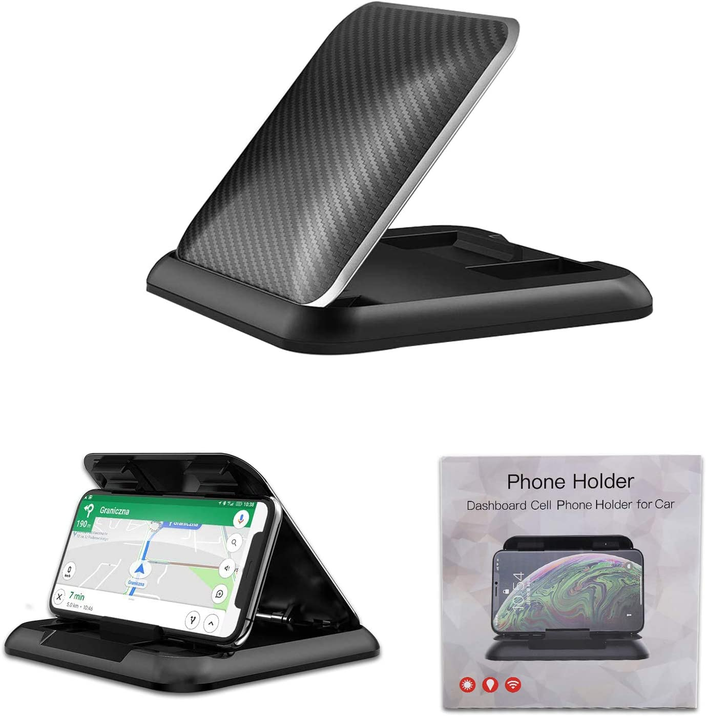 Award-winning store Carboss Cell Phone Holder Dashboard Suction Anti-Slip Mount Discount is also underway Pad