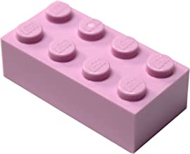 LEGO Parts and Pieces: Bright Pink (Light Purple) 2x4 Brick x50