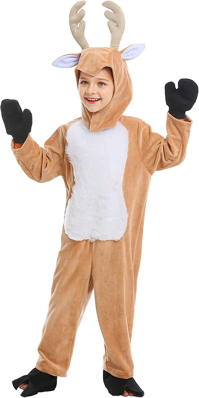 Vaomts Kid Animal Costume for Halloween Girls//Boys Fleece Onesie Novelty One Piece Pajama Sleepwear Party Cosplay