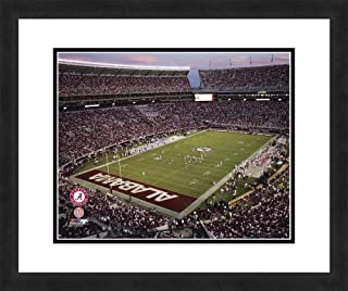 """NCAA Alabama Crimson Tide Stadium, Beautifully Framed and Double Matted, 18"""" x 22"""" Sports Photograph"""