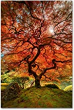 The Tree Vertical by Moises Levy, 16x24-Inch Canvas Wall Art