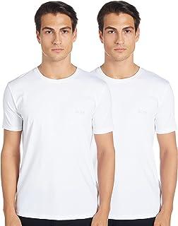 BOSS Men's Round Neck T-Shirt (Pack of 2)