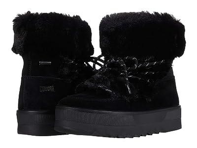 Cougar Vanity Waterproof (Black All Over Suede/Faux Fur) Women