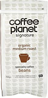 Coffee Planet Organic Whole Beans Caffeinated Traditional - 250g