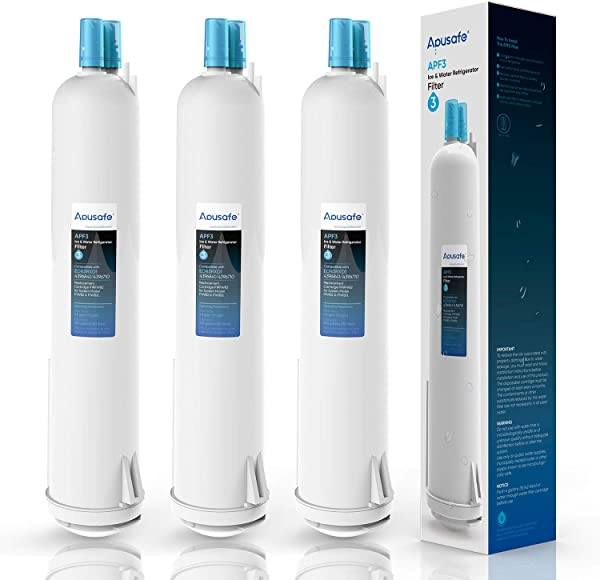 4396841 EDR3RXD1 Water Filter Replacement Compatible With 4396710 Refrigerator Cap Water Filter 3 Kenmore 9083 9030 3 Pack