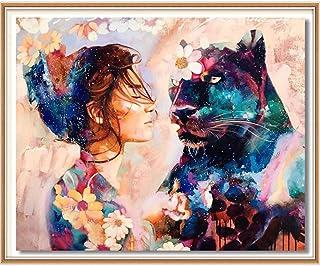 SULISO Peinture par Numéro DIY, Kits de Peinture au Numéro Loisir Creatif, Peinture par Numero pour Enfants/Adultes/Senior...
