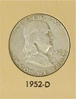1952 D Franklin Half Dollar Very Good
