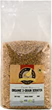 Scratch and Peck Feeds - Cluckin' Good Organic 3-Grain Scratch for Chickens and Ducks - Organic and Non-GMO Project Verified - 10-lbs