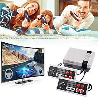 Abollria Retro Game Console, Mini Game Console Childhood Game Consoles Built-in 620 Game(Some Repeated) Dual Control 8-Bit...