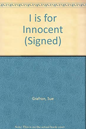 I Is For Innocent: Signed