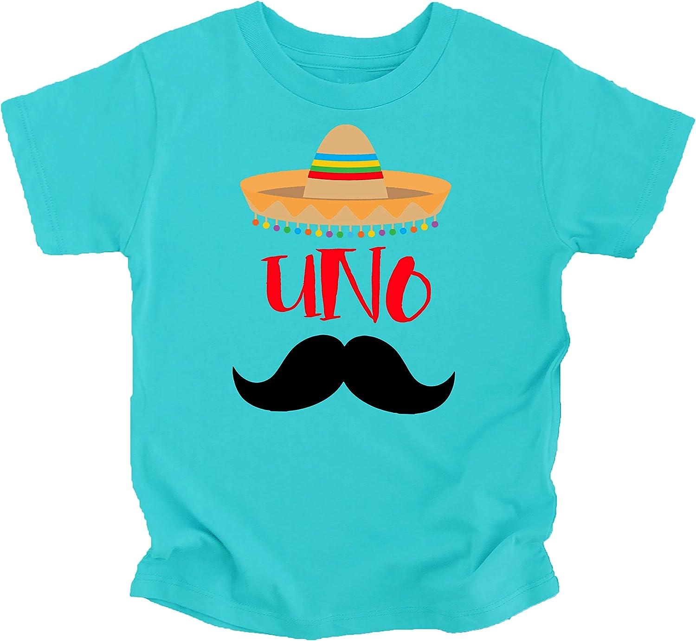 1st Birthday Uno Shirt Fiesta Themed First Birthday Sombrero Birthday Shirt Mustache Birthday Outfit for Baby Boy