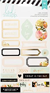 Heidi Swapp American Crafts 312584 Memory Planner Labels 2/Sheets-, Assorted