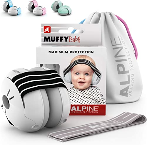 Alpine Muffy Baby Ear Protection for Newborn and Babies up to 36 Months – Noise Reduction Earmuffs for Toddlers & Chi...