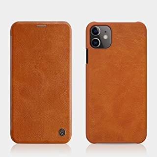 Nillkin Apple iPhone 11 Case Qin Leather Cover - Brown