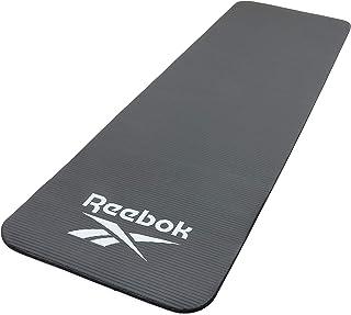 リーボック(Reebok) トレーニングマット 10mm ヨガマット ブラック 滑り止め 厚手 防音 T241-RAMT-11015BK