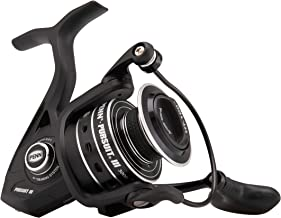 Penn Pursuit III Spinning Fishing Reel, Black/Silver, 4000