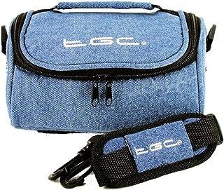 TomTom Rider 450 Nav GPS Case Bag van TGC ® met schouderriem en draaggreep (Dreamy Blue Denim)