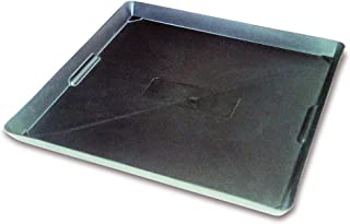 WirthCo 40092 Funnel King Drip Tray - Black Plastic 22 x 22 x 1.5 Inches - Perfect for Catching Spills or Leaks from Mini ...