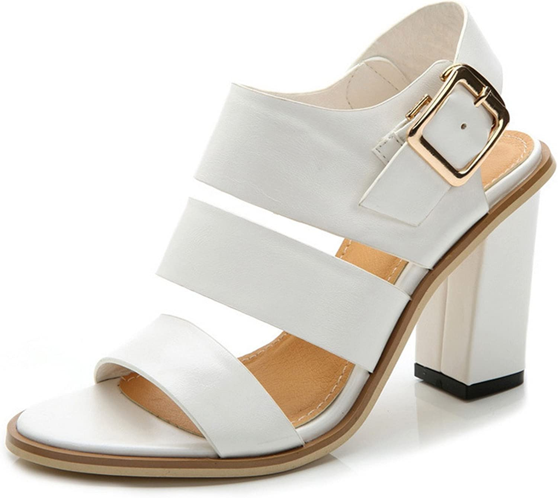 Karl Conner Fashion Women Sandals Black Peep Toe Heel Sandals