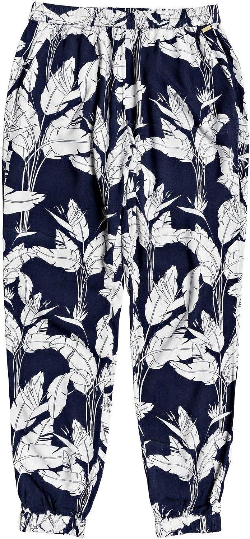Roxy Easy Peasy - Pantalon Léger pour Femme - Pantalon léger - Easy Peasy - Pantalon léger pour Femme - Femme Mood Indigo Flying Flowers S