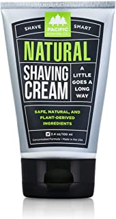 Pacific Shaving Company Natural Shave Cream for Men, 100ml, 3.4 fl oz