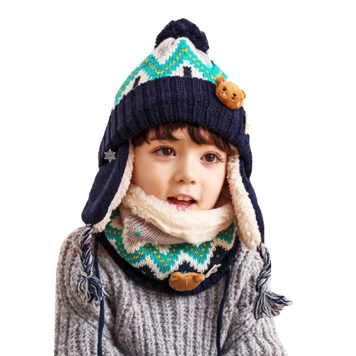 01b9b39b1 Knitted Ear Flap Hat Pattern – Patterns Gallery