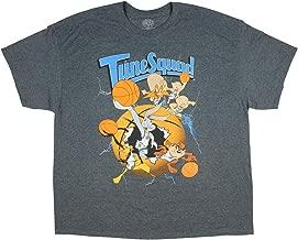 Looney Tunes Space Jam Tune Squad Graphic Design Men's T-Shirt