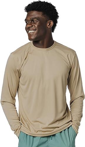Vapor Apparel Men's UPF 50+ UV Sun Protection Long Sleeve T-Shirt