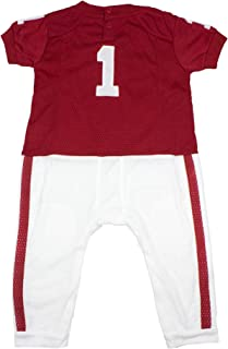Baby Short Sleeve Bodysuit and Matching Bib 2-Pack Set-Newborn and Infant Sizes Colosseum NCAA-Roll Out