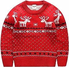 MULLSAN Children's Fireplace Lovely Sweater for Christmas Best Gift