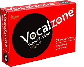 Vocalzone Throat Pastilles (Pack of 24