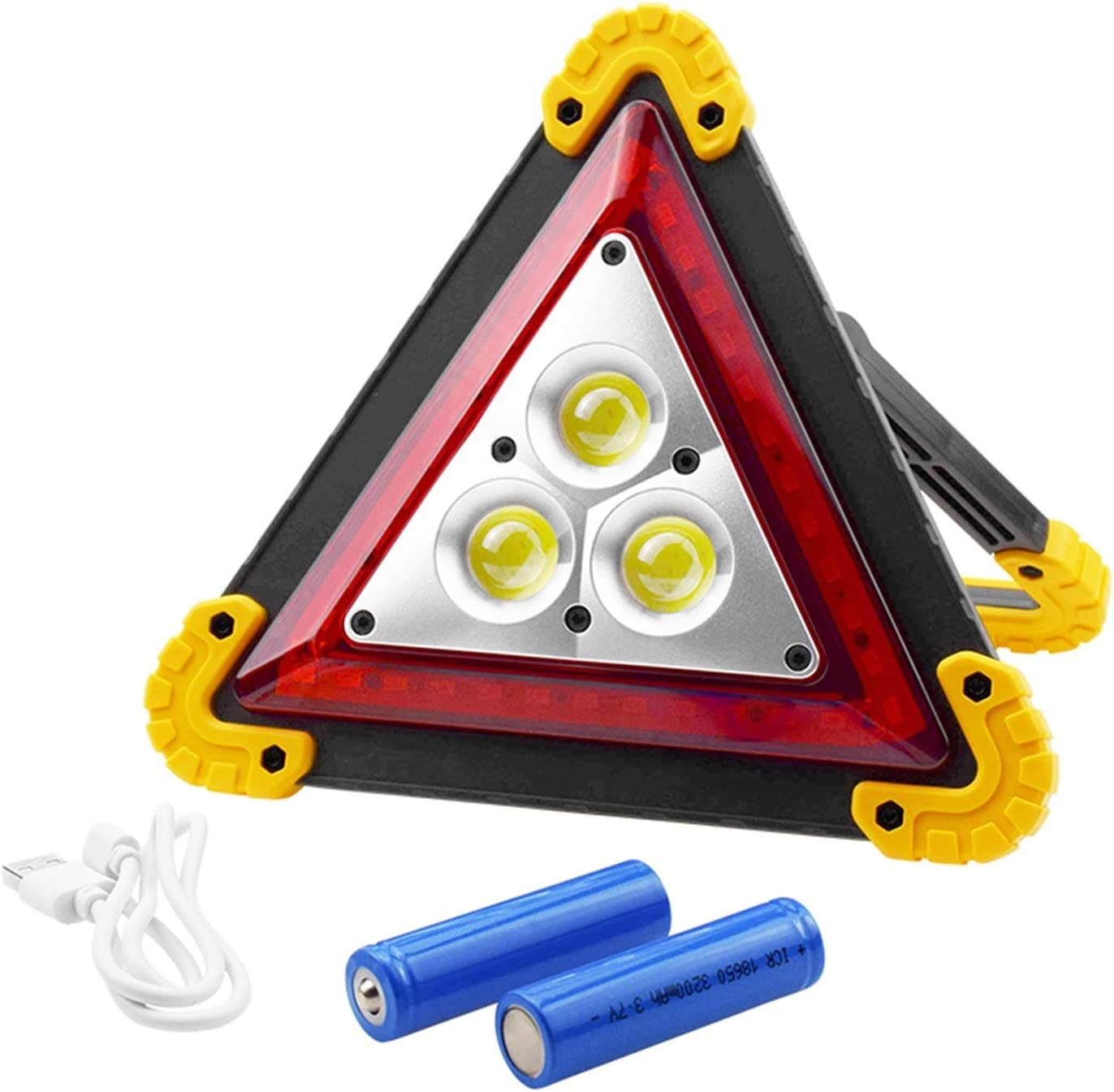 linger 4 Modes Rechargeable cheap Led Warning Discount mail order Light Emergency Hazard T