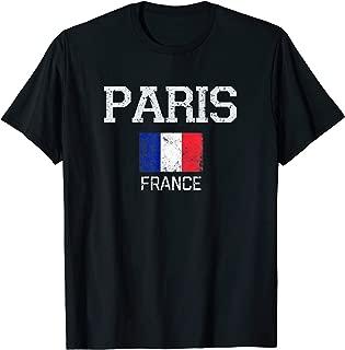 Vintage Paris France French Souvenir Gift T-Shirt