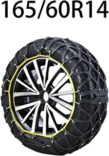 HEIFEN Car Snow Chain Winter Cross Section is 145-175 Various Models of SUV Fully Enclosed Snow Chain Non-Slip Wear-Resistant Snow Emergency