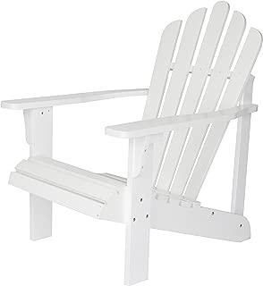 Shine Company Inc. 4611WT Westport Adirondack Chair, White