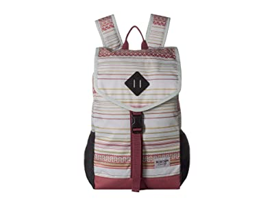 Burton Westfall Pack (Aqua Gray Revel Stripe Print) Bags
