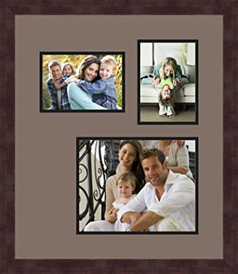 Art to Frames Double-Multimat-271-748//89-FRBW26079 Collage Photo Frame Double Mat with 2-4x6 5x7 Openings and Satin Black Frame