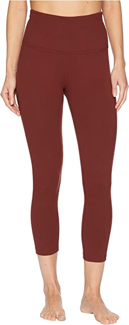 High-Waisted Capri Leggings