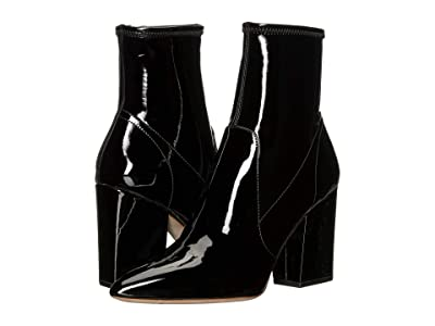 Loeffler Randall Isla Slim Ankle Bootie (Black) Women