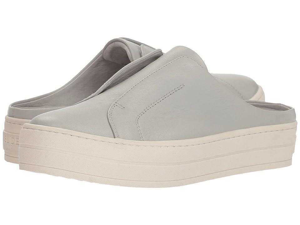 J/Slides Hara (Grey Leather) Women