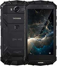 DOOGEE S60 Triple Proofing Phone 6GB+64GB 5.2 inch 5580mAh Battery Android 7.0 MTK Helio P25 Octa Core up to 2.5GHz WCDMA & GSM & FDD-LTE (Black)