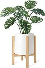 Best rustic wood flower pots Reviews