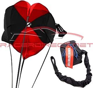 Racerdirect.net 10 Ft 4 Line-15 Ft Lines Spring Racing Parachute W/Nylon Bag & Pilot Chute