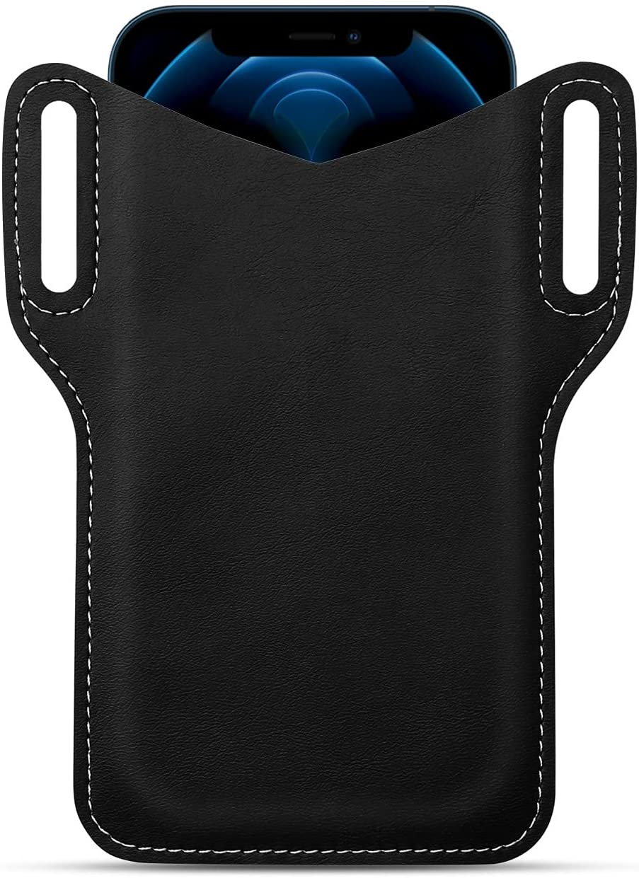Leather Phone Holster Cell Price reduction Belt 5.5-6. with security Loop