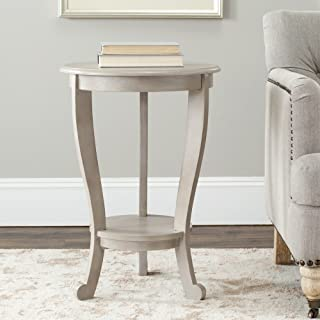 Safavieh American Homes Collection Mary Vintage Grey Pedestal End Table