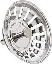 Blanco filtermand voor stopper (125590), 79 mm pin (18 sleuven), voor 3,5 inch afvoer