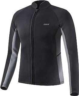 EYCE Dive & SAIL Men's 3mm Wetsuit Jacket Top Long Sleeve Neoprene Wetsuits