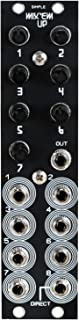 Blue Lantern Simple Mix 'Em Up Mixer 8 Channel 6HP Mixer Modular Eurorack Module