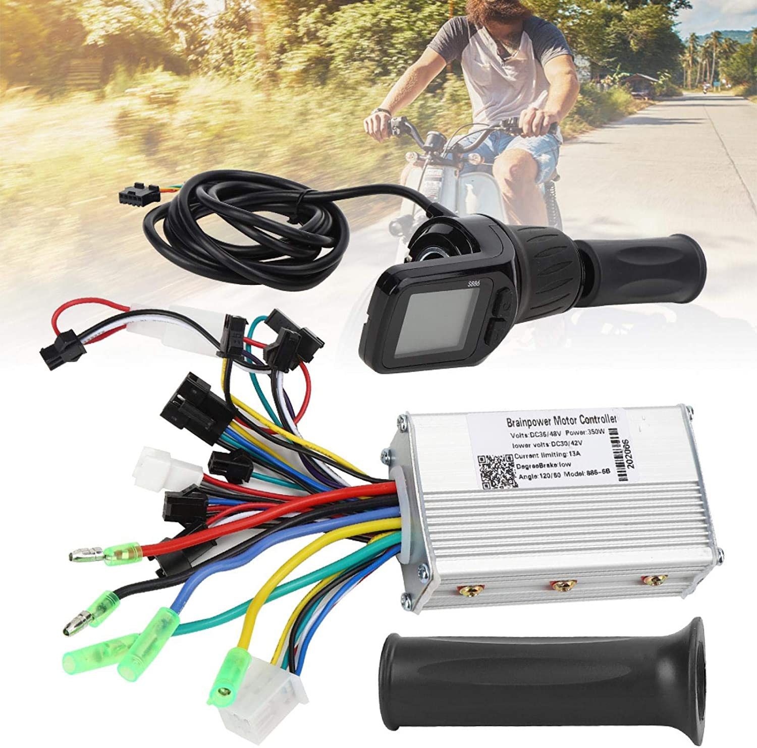 VINGVO 100% quality warranty! 36 48V Electric Bicycle Scooter Shipping included Set Controller