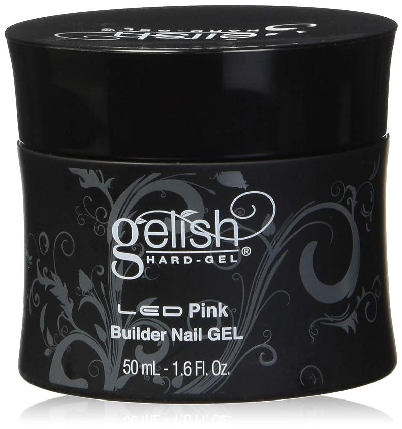 肩をすくめる刺激する補体Harmony Gelish LED Hard Gel - Pink Builder - 1.6oz / 50ml
